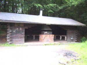 Die Grillhütte in Eibach