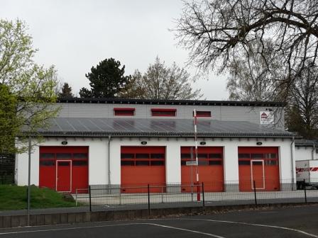Photovoltaikanlage Feuerwehrgerätehaus Frohnhausen