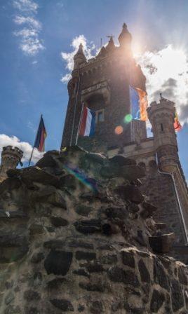 Der Wilhelmsturm auf dem Dillenburger Schlossberg