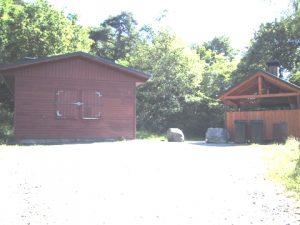 Die Grillhütte des Freizeitzentrums Hustenbach
