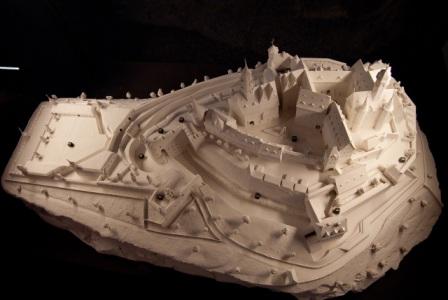 Ein Modell des Dillenburger Schlosses