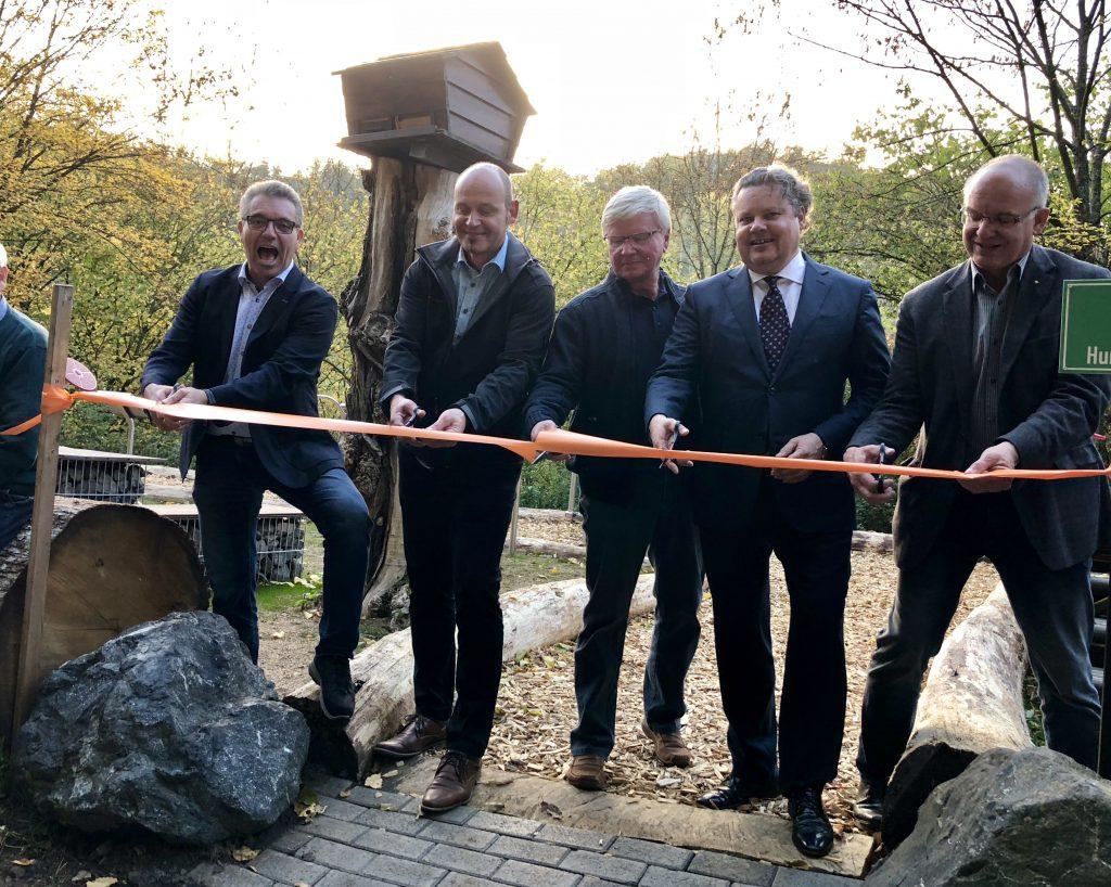Eröffnung des Aktiv-Parks