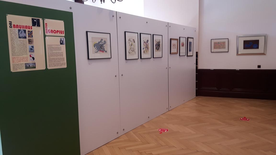 Bauhausausstellung in der Villa Grün auf dem Dillenburger Schlossberg Foto: S. Curovic