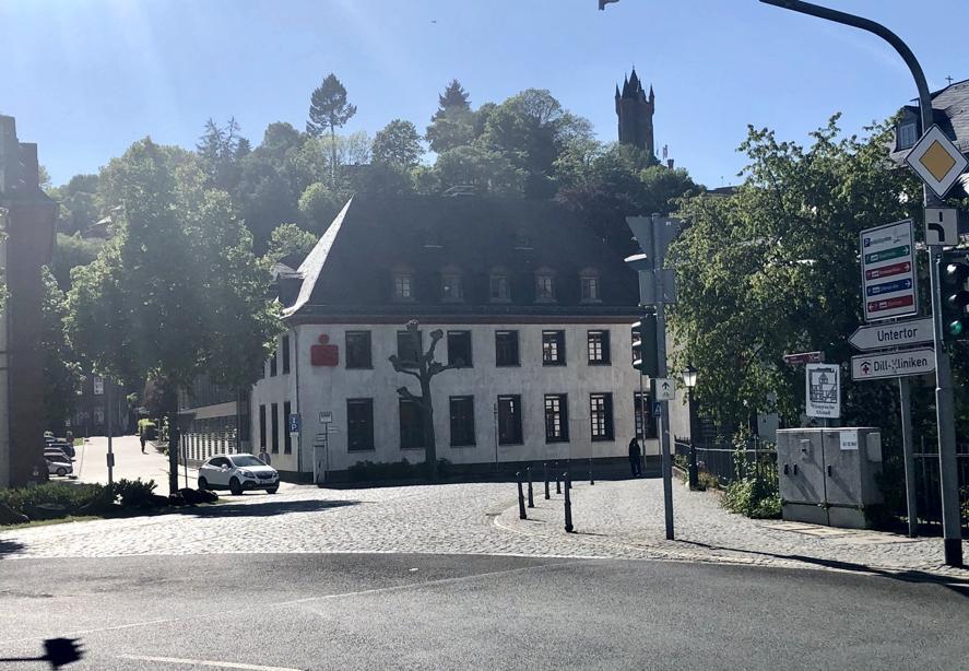 Der Kreuzungsbereich Untertor - Frankfurter Straße