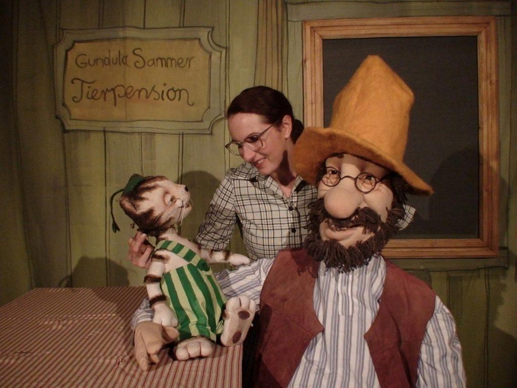 Programm für Kinder: Petterson und Findus begeistern die Kleinen.