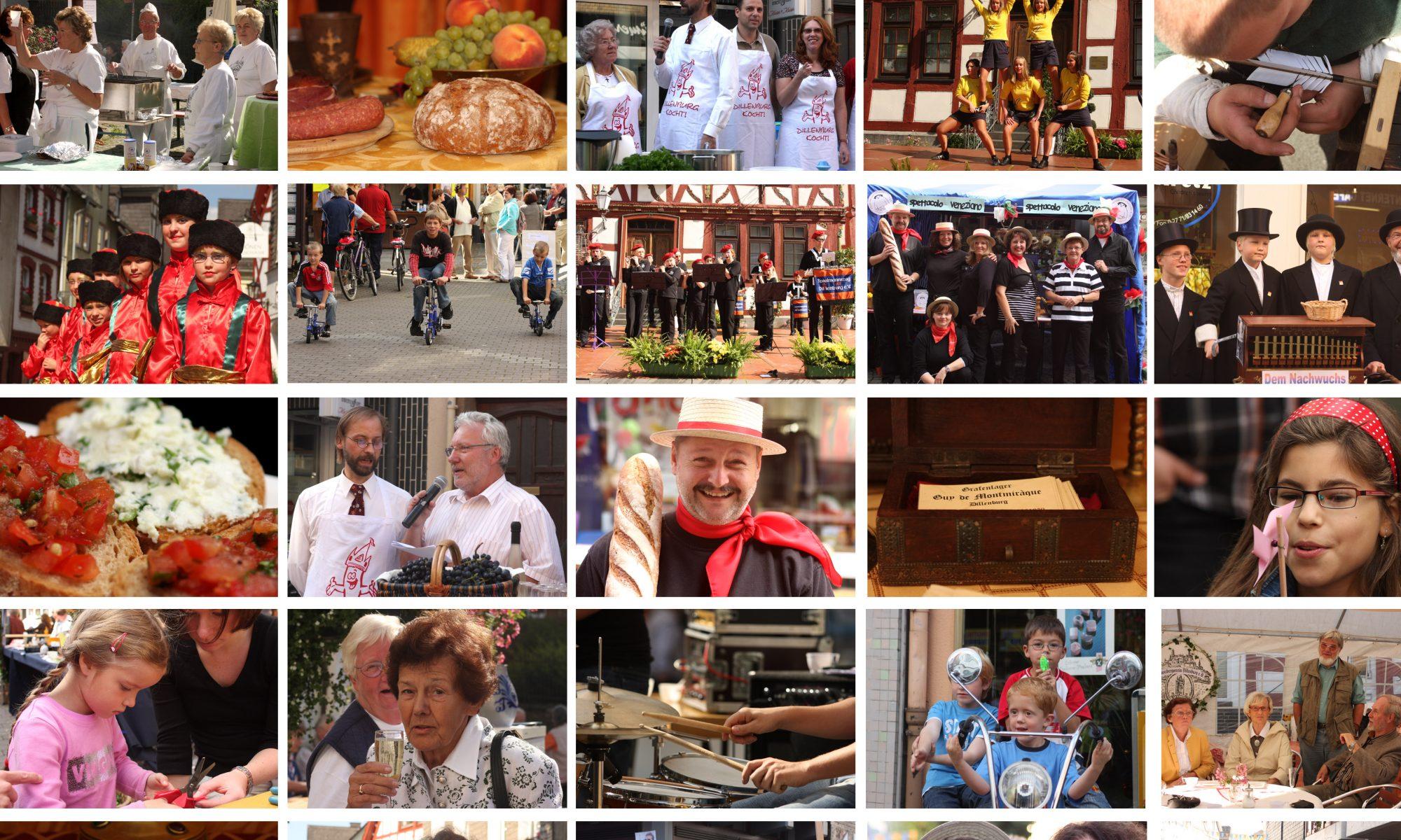 Collage der Dillenburger Vereine Foto: Martina Klein
