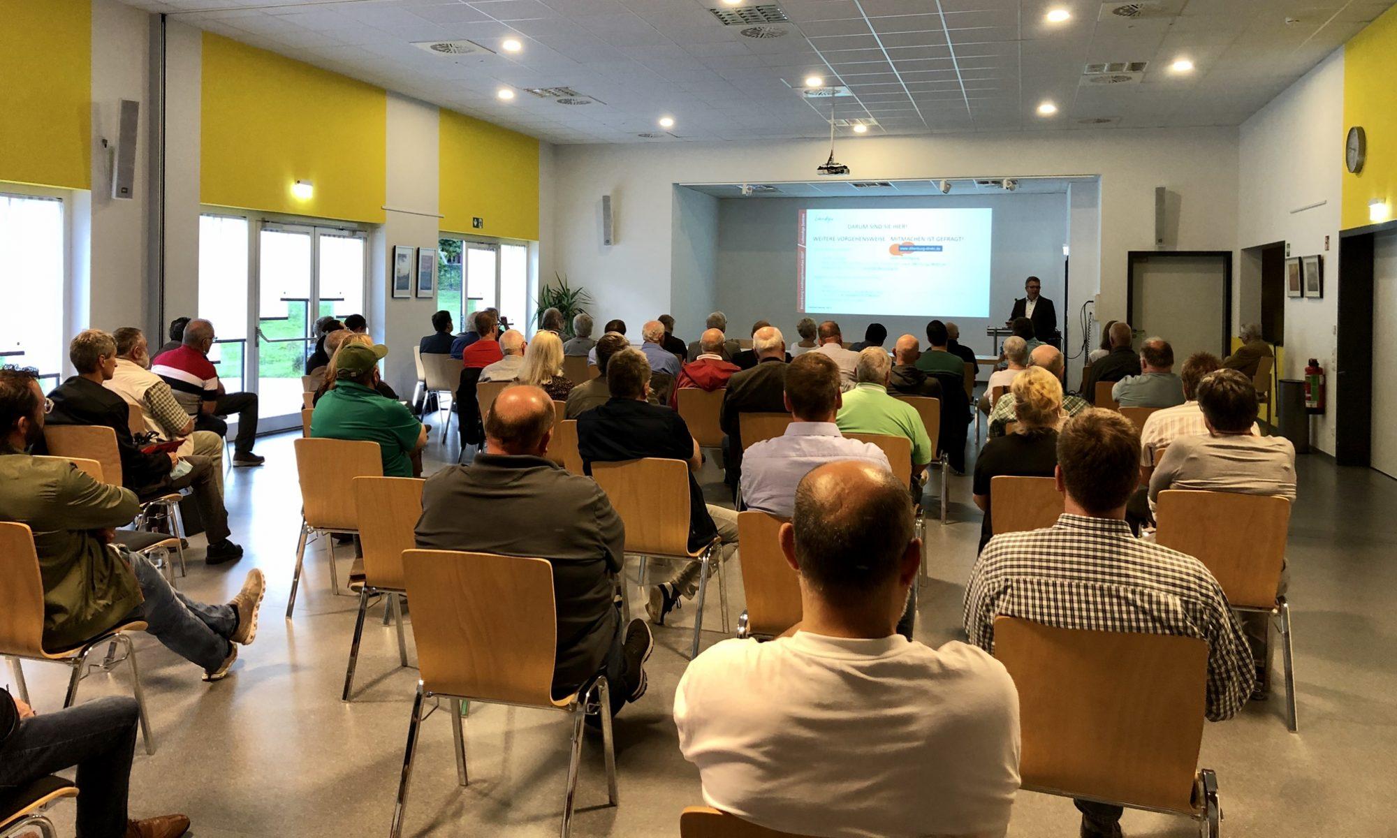 Bild von der Vereinskonferenz zur Landesgartenschau