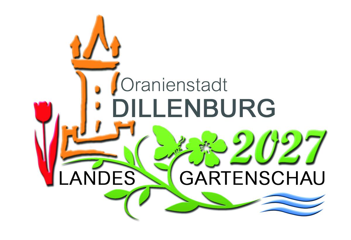 Logo zur Bewerbung Landesgartenschau 2027