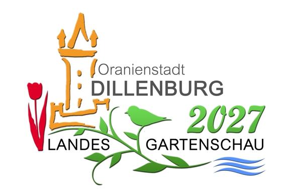 Logo zur Bewerbung zur Landesgartenschau 2027