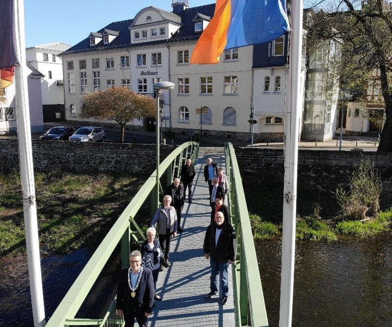 Foto (Oranienstadt Dillenburg): Der neue Dillenburger Magistrat hat sich für die nächsten fünf Jahre konstituiert