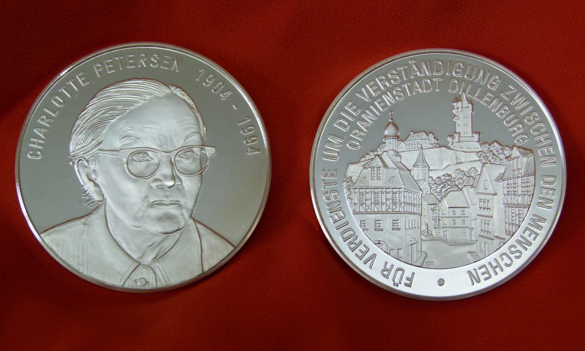 Charlotte-Petersen-Medaille